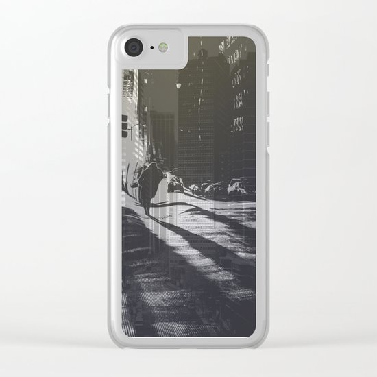 City collage Clear iPhone Case
