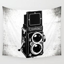 Vintage camera Wall Tapestry