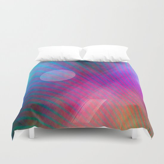 Multicolored abstract no. 43  Duvet Cover