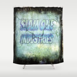 Slam 1 Industries Cracked Shower Curtain