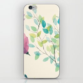 The Spring Leaves iPhone Skin