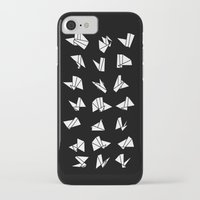 origami iPhone & iPod Cases featuring origami by spinL