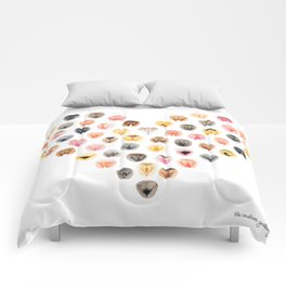 Vulva Heart Comforters