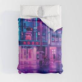 Neon Nostalgia Comforters