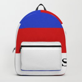 Russia flag Backpack