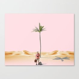 The lost Canvas Print