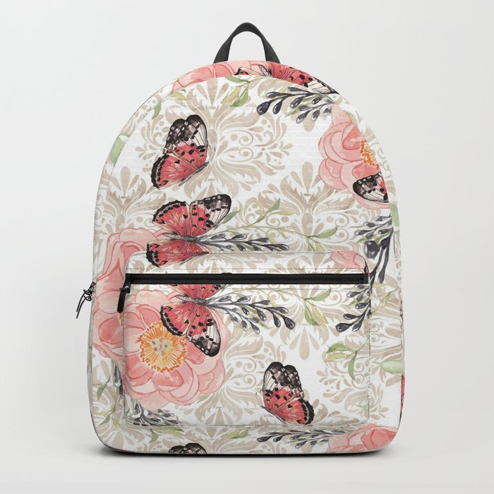 Flowers & butterflies #2 Backpack