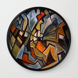La Duree de Vie Moyenne d'un Papillon Wall Clock
