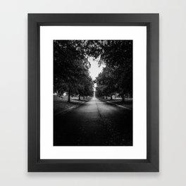 The Lone Walk Framed Art Print