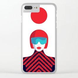 Stylish Journey - Japan Clear iPhone Case