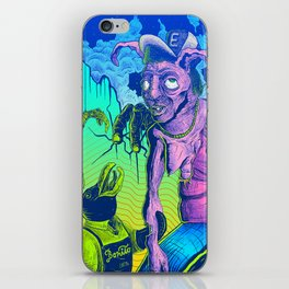 Perplex rabbit iPhone Skin