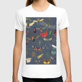 Lovely Butterfly Blue T-shirt