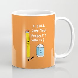 Pencil and eraser | Perfect who is Coffee Mug