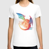 charizard T-shirts featuring Charizard by Natalie Huber