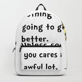 Dr Seuss Lorax Backpack
