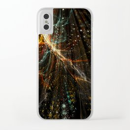 Time Tendrils Clear iPhone Case