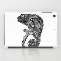 chameleon iPad Cases featuring Chameleon  by Ejaculesc