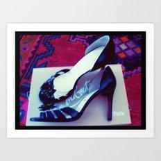 Shoes - Louboutin Sandals Art Print
