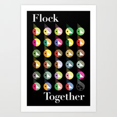 Flock Together Art Print