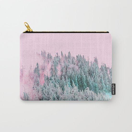 Forest Fog V5 #society6 #decor #buyart Carry-All Pouch