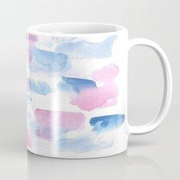 180527 Abstract Watercolour 16 | Watercolor Brush Strokes Coffee Mug