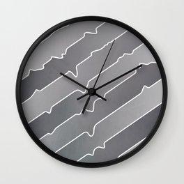 Chromium Peel Wall Clock