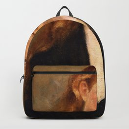 Edvard Munch - Study of a Head Backpack