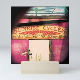 Sunrise sunset Mini Art Print