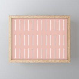 Organic / Blush Framed Mini Art Print