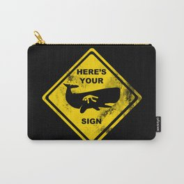 The Sign of Jonah Carry-All Pouch