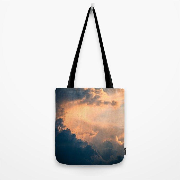 Majestic Clouds Tote Bag