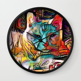 Sweet Muse Wall Clock
