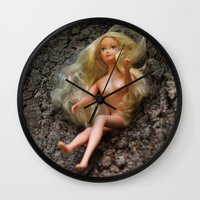 barbie Wall Clocks featuring barbie by art_by_a_rose