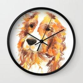 Cocker Wall Clock