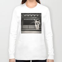 astronaut Long Sleeve T-shirts featuring Astronaut by eARTh