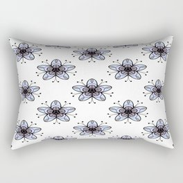 Ditsy Print Rectangular Pillow
