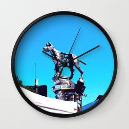 Newtown Hound Wall Clock
