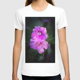 Wet Purple Impatiens T-shirt