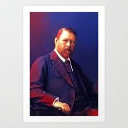Bram Stoker, Literary Legend Art Print