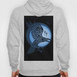 Viking Raven of Death - Blue Hoody