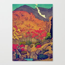 Autumn Baths in Kaanaii Canvas Print