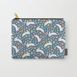 Easter Bunnies Carry-All Pouch