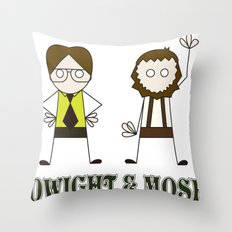 The Schrutes Throw Pillow