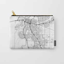 Minimal City Maps - Map Of Sacramento, California, United States Carry-All Pouch