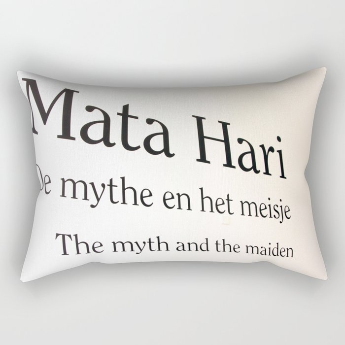 Mata Hari part 2 Rectangular Pillow