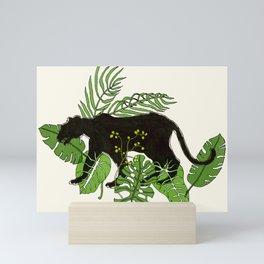jungle cat Mini Art Print