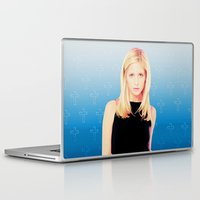 buffy Laptop & iPad Skins featuring Buffy the Vampire Slayer, Cross by Your Friend Elle