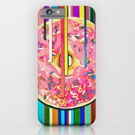 Melting Donut iPhone Case