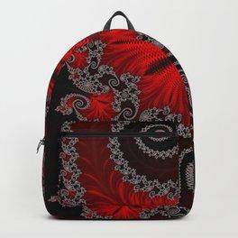 Eruption - Fractal Art Backpack