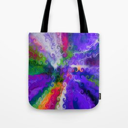 Twirly Whirly Tote Bag